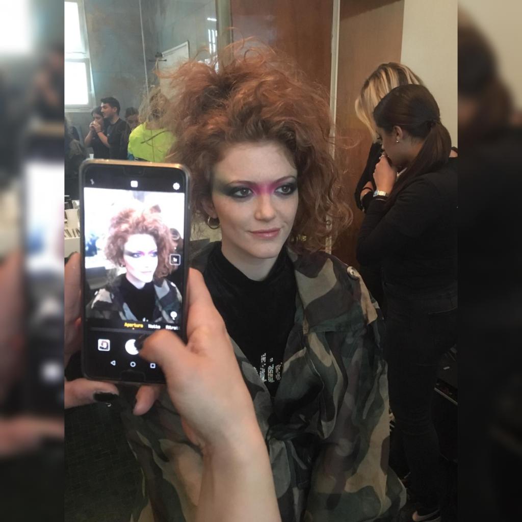 Makeup Sfilata Fabbricato Viaggiatori