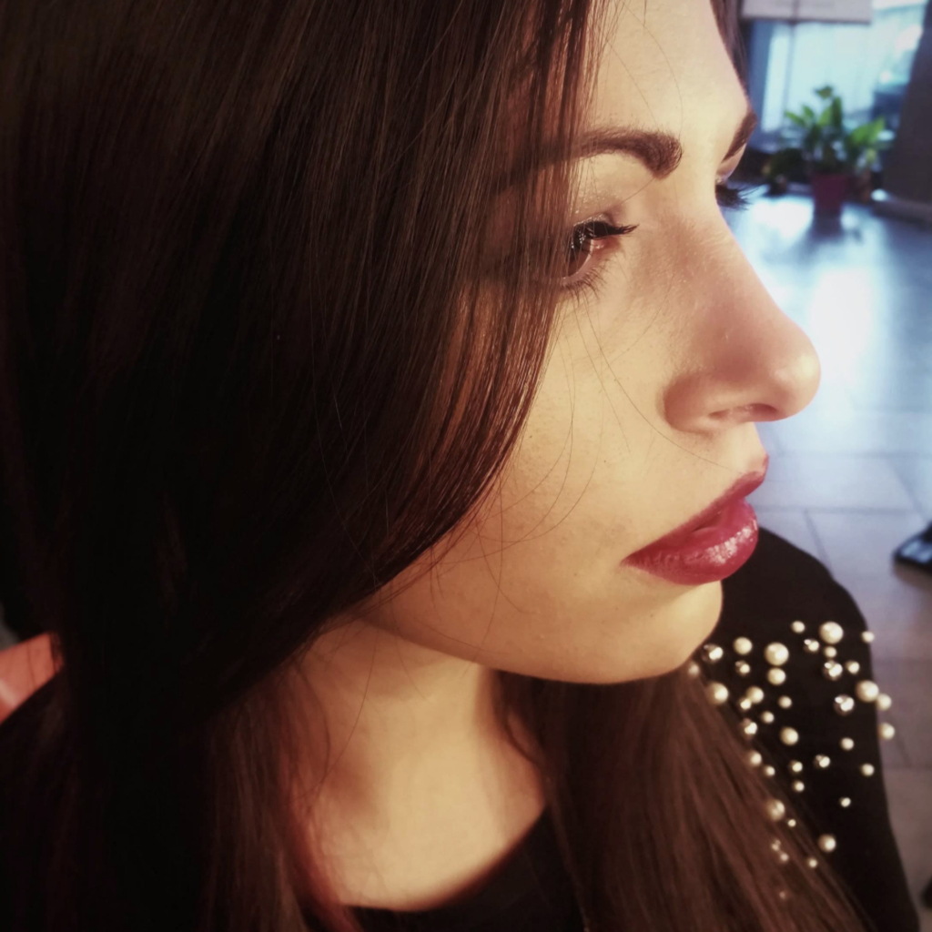 Makeup artist Laura Vanni